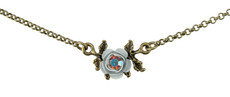Michal Negrin Small Rose Necklace - One Left