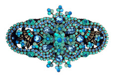 Michal Negrin Jewelry Hair Brooch - 100-091230-055 - Multi Color