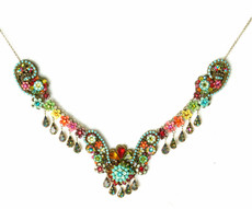 Michal Negrin Jewelry Necklace - 100-092610-034 - Multi Color