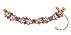 Michal Negrin Jewelry Flower Bracelet - 100-093900-051 - Multi Color