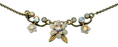Michal Negrin Jewelry Flowers Necklace - 100-094140-008 - Multi Color