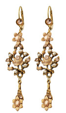 Michal Negrin Flowers Earrings - Multi Color
