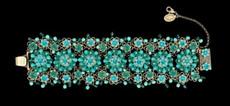 Michal Negrin Jewelry Flowers Bracelet - 100-096810-016 - Multi Color