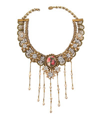 Michal Negrin Crystal Lace Necklace 100-100700-005 - Multi Color