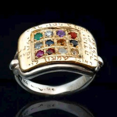 Twelve Tribes Ephod Stones Ring
