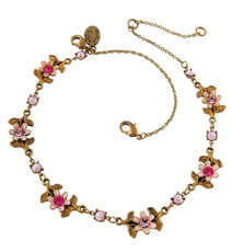 Michal Negrin Flowers Anklet Accessory