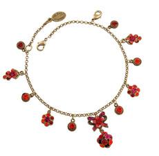 Michal Negrin Jewelry Flowers Bracelet - 100-107640-038 - Multi Color