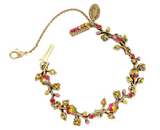 Michal Negrin Jewelry Crystal Flower Bracelet - 100-107940-040 - Multi Color