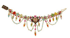 Michal Negrin Jewelry Flower Bracelet - 100-108200-037 - Multi Color