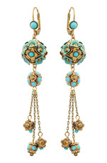 Michal Negrin Jewelry Hook Earrings - 100-108271-034 - Multi Color