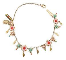 Michal Negrin Jewelry Flowers Bracelet - 100-108350-016 - Multi Color