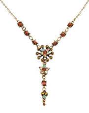 Michal Negrin Jewelry Crystal Star Necklace - Multi Color