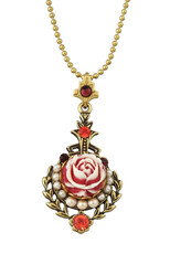 Michal Negrin Jewelry Rose Crystal Necklace - 100-111320-001 - Multi Color