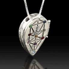 Tree Of Life Kabbalah Pendant
