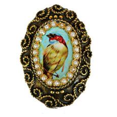 Iris Design Adjustable Bird Ring