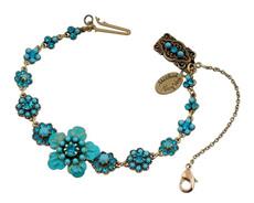 Michal Negrin Classic Crystal Flower Bracelet - 100-124970-007 - Multi Color