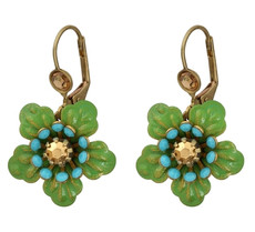 Michal Negrin Classic Flower Earrings - Multi Color
