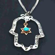 Hamsa Pendant From Evil Eye Jewelry Collection