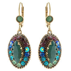 Negrin Michal Jewelry Hook Earring - Multi Color