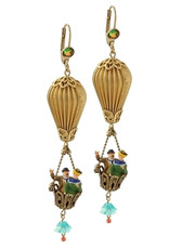 Gorgeous Earrings By Michal Negrin Classic Collection - Multi Color