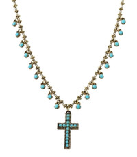 A Special Cross Necklace From The Michal Negrin Classic Collection