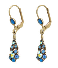 Michal Negrin Hook Earrings - Multi Color