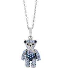 Hamilton Crawford Teddy Bear Silver Necklace
