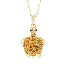 Hamilton Crawford Turtle Necklace Gold Necklace