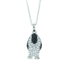 Hamilton Crawford Necklace Marching Penguin Necklace Silver