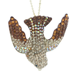 Andrew Hamilton Crawford Swallow Necklace Topaz Necklace