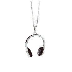 Andrew Hamilton Crawford Jewelry Head Phones Pendant Necklace