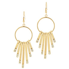 Special Farrah Earrings Gold Earrings From Andrew Hamilton Crawford Jewelry