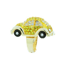 Andrew Hamilton Crawford Rings Herbie Ring Gold Yellow