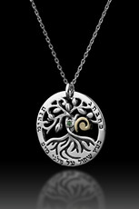 Kabbalah Jewelry Circle Of Life Necklace