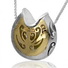 Treasure Of Heart W/ Inserted Crystoble Kabbalah