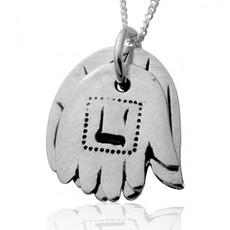 Haari Kabbalah Jewelry Silver Double Hamsa