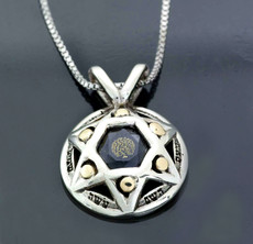Silver And Gold Song Of Maalot Kabbalah Pendant
