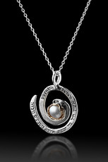 Woman Of Valor Pendant W/ Pearl