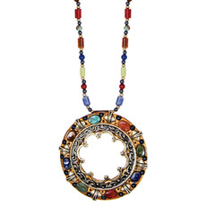 Michal Golan Necklace - Durango Large Open Circle