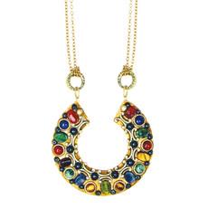 Michal Golan Jewelry Horseshoe Necklace