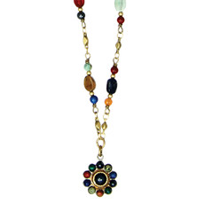 Michal Golan Necklace - Durango Small Round Chain Bead