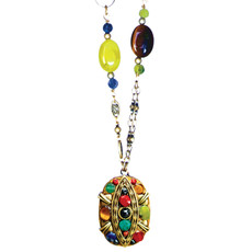 Michal Golan Necklace - Durango Oval Chain Bead