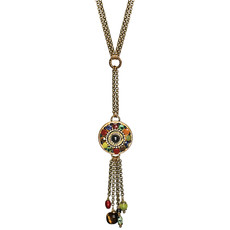 Michal Golan Durango Double Chain Round With Tassels
