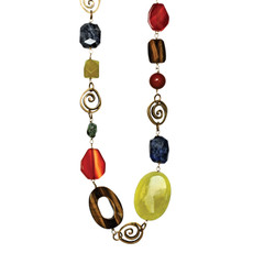 Michal Golan Necklace - Durango Chunky Stones