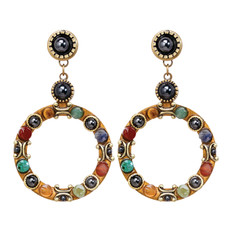 Michal Golan Jewelry Durango Large Hoop Earring