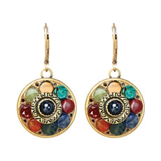 Michal Golan Earrings - Durango Small Round Wire