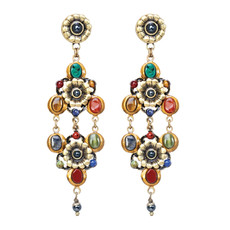 Michal Golan Earrings - Durango Double Trangle Dangle