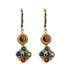 Michal Golan Earrings - Durango Small Flower Pendant
