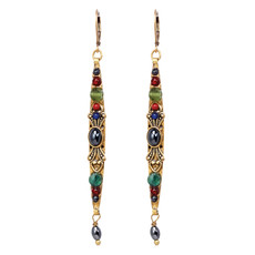 Michal Golan Earrings - Durango Long Skinny Dangle