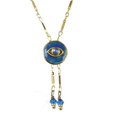 Evil Eye Necklace - Michal Golan Dark Blue